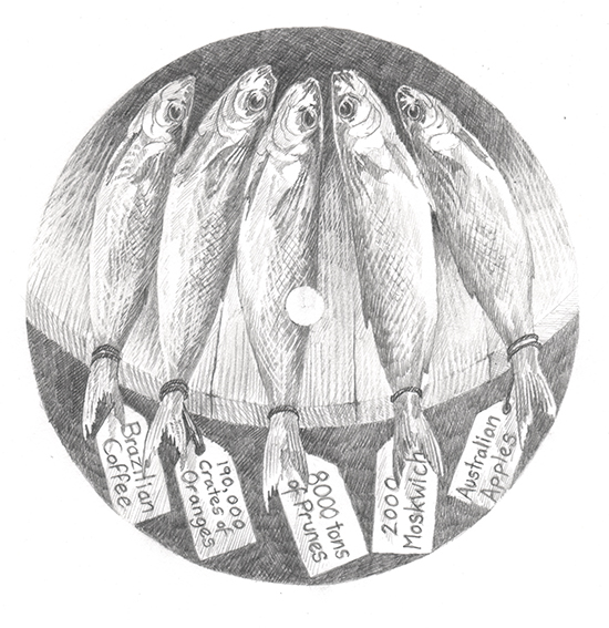 'Dwellers On The Threshold', from Herring Tales