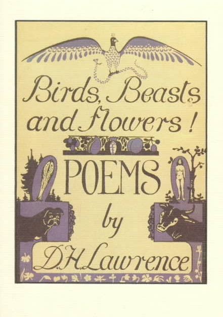 D.H.Lawrence's original 1923 book cover