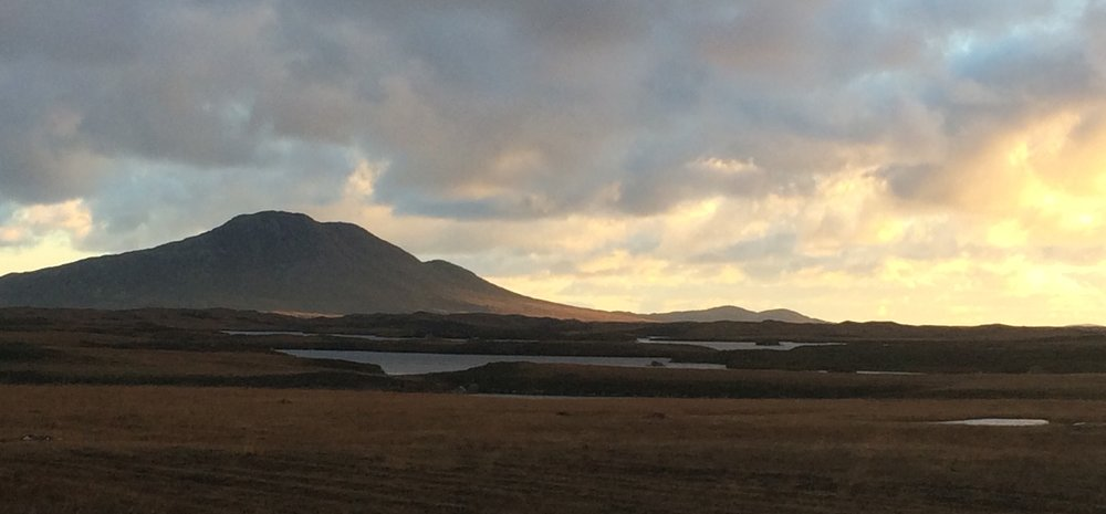 North Uist in November