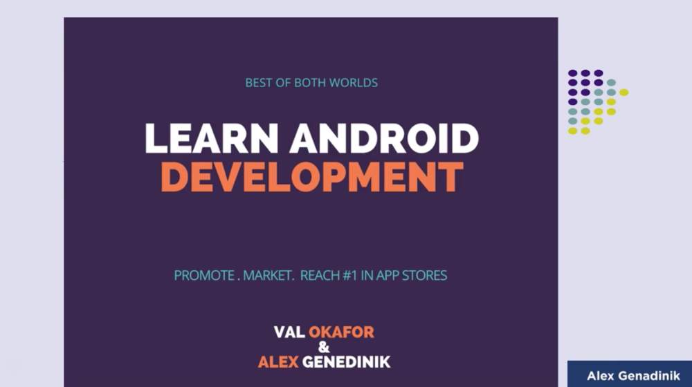 Learn Android App Development & Promote Your App like a Pro
