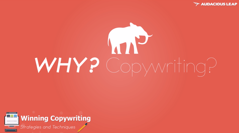 Copywriting Masterclass - Writing that Sells