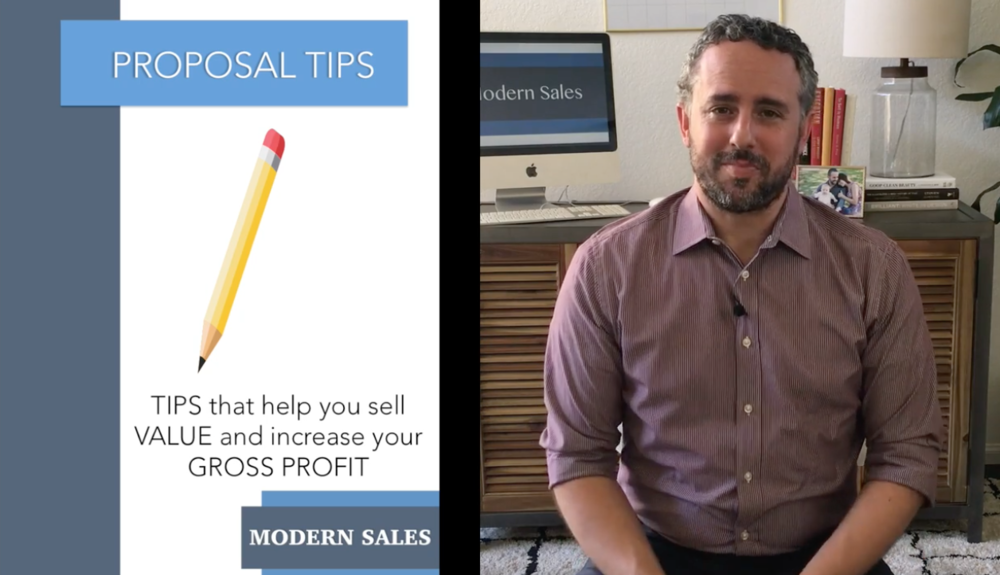 Modern Sales Training #8: Proposal Tips from a Sales Pro