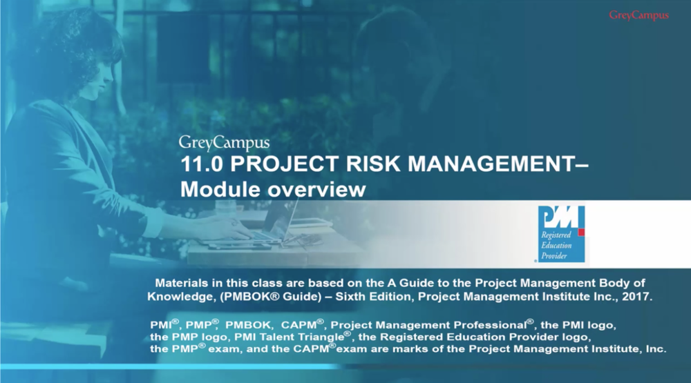 Project Risk Management - PMPv6 edition