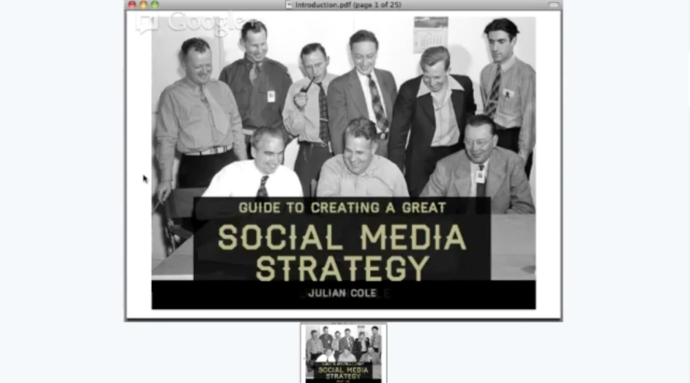 Create A Great Social Media Strategy