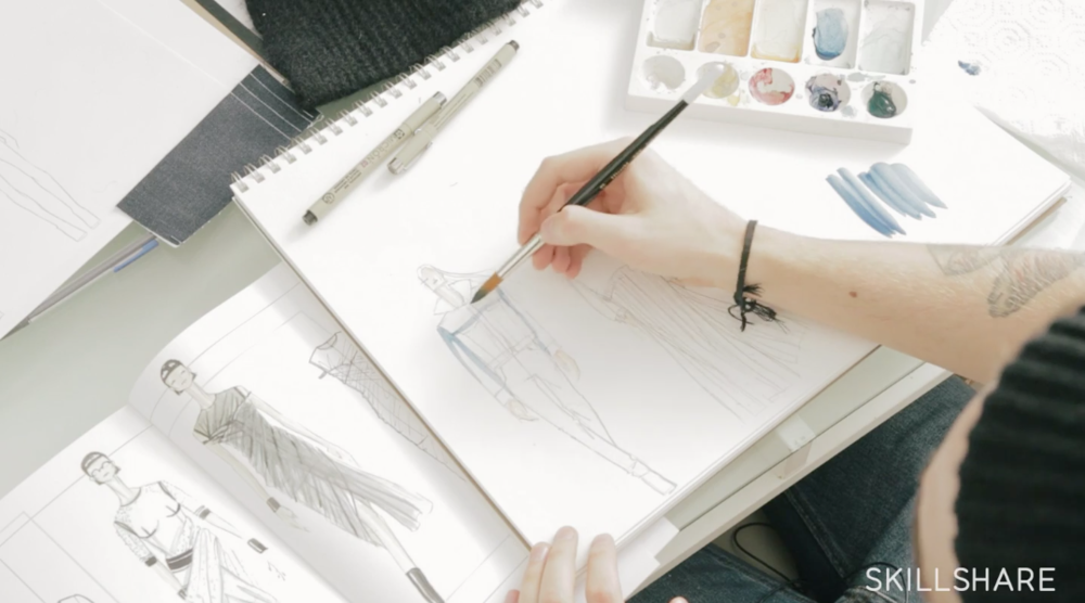 The First Steps of Fashion Design: From Concept to Illustration