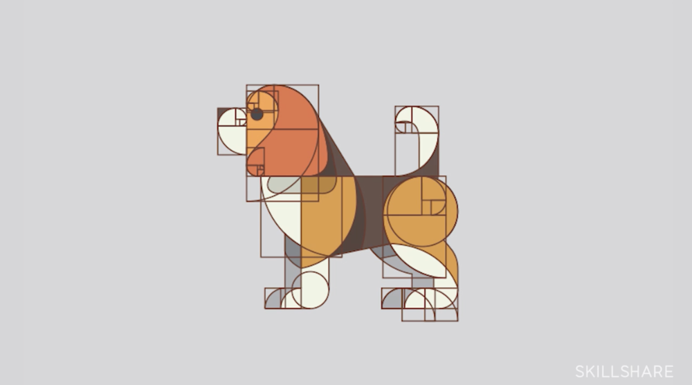 Mastering Logo Design: Gridding with the Golden Ratio