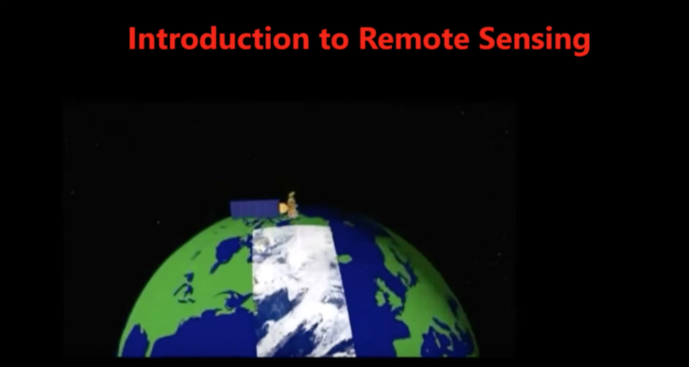 Satellite Remote Sensing Fundamentals