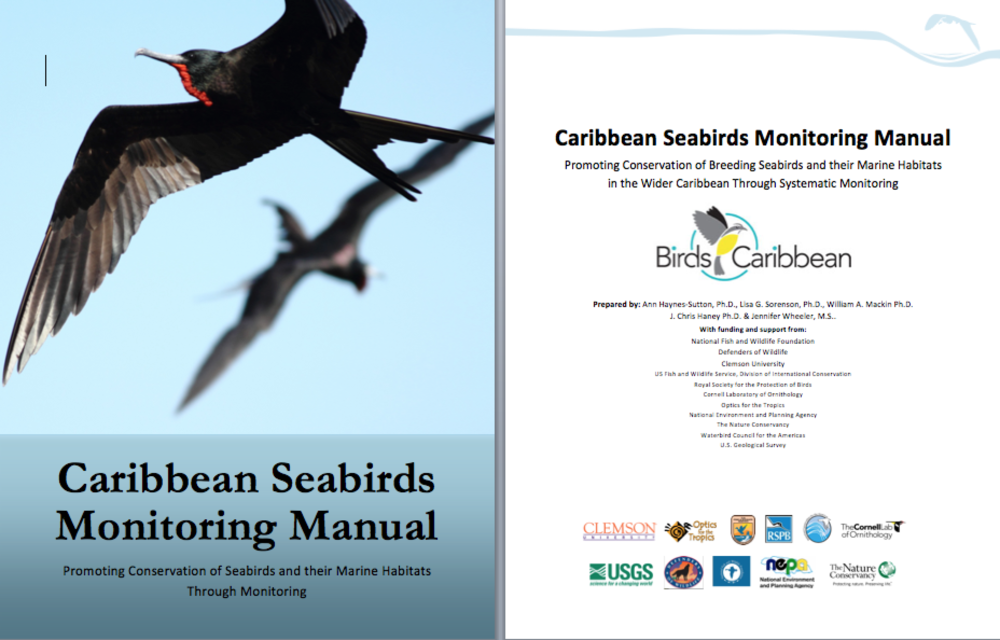 Caribbean seabirds monitoring manual - available on request
