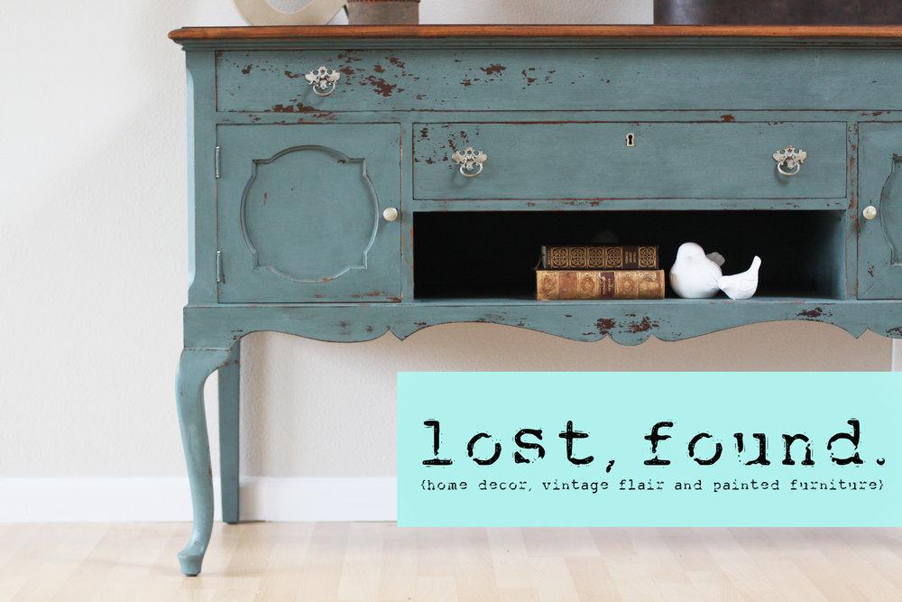 lost, found.