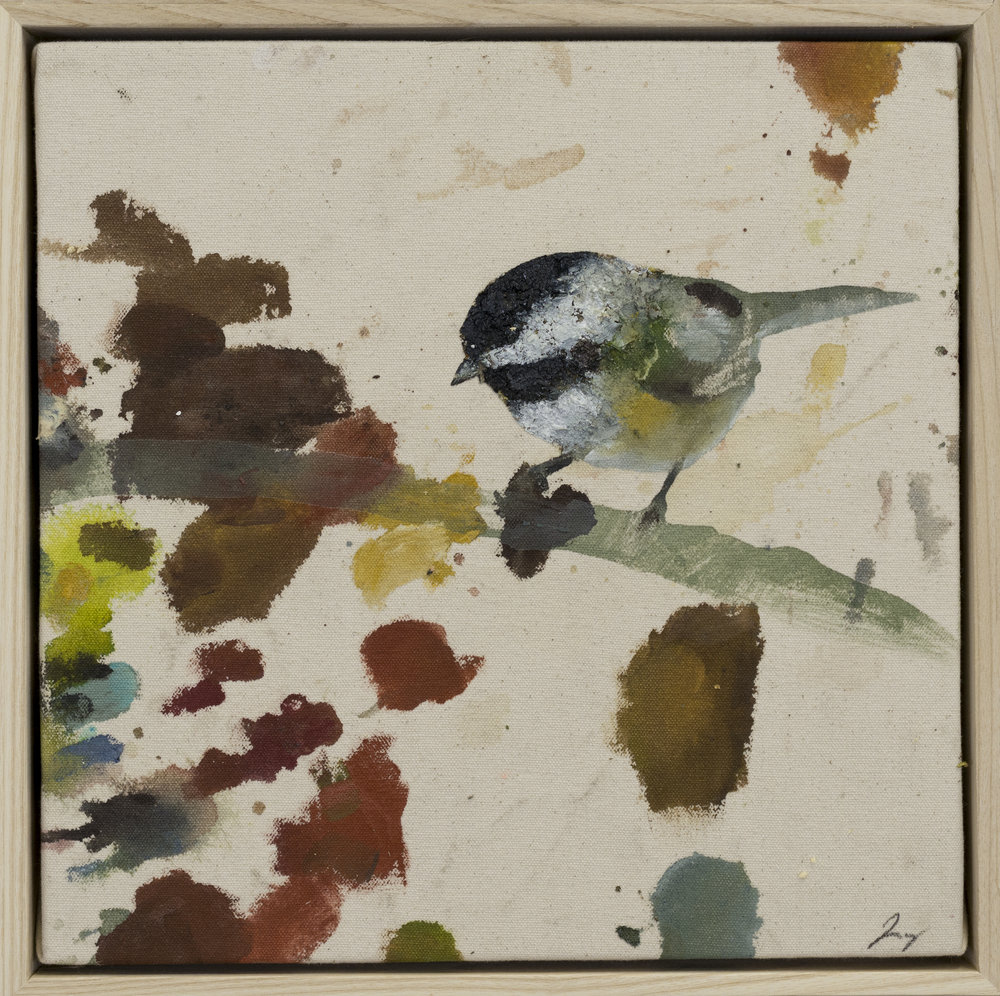 Drop cloth bird # 26