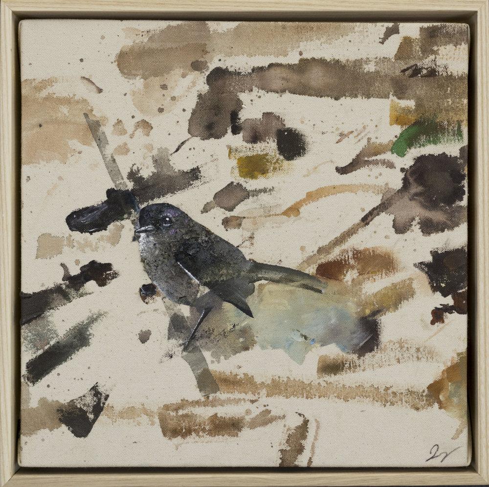 Drop cloth bird # 33