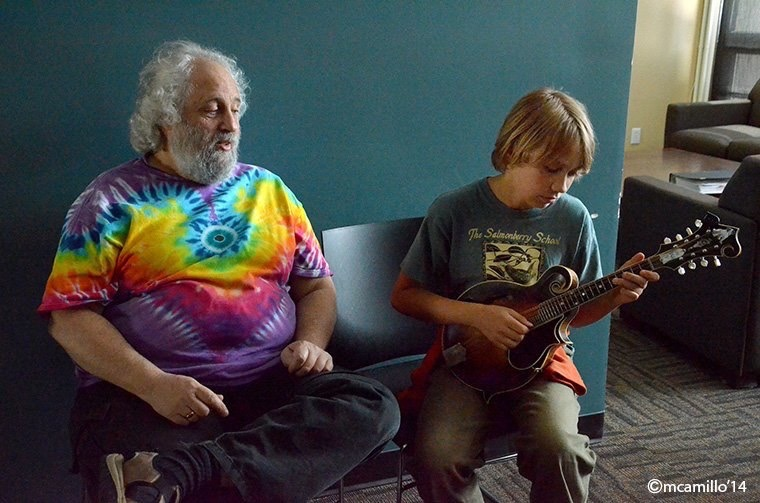 Tashi Litch and David Grisman
