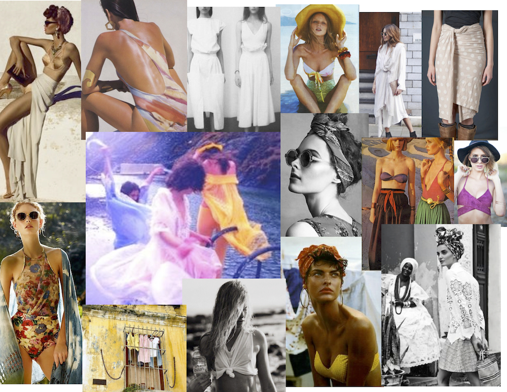 - mood board conception -