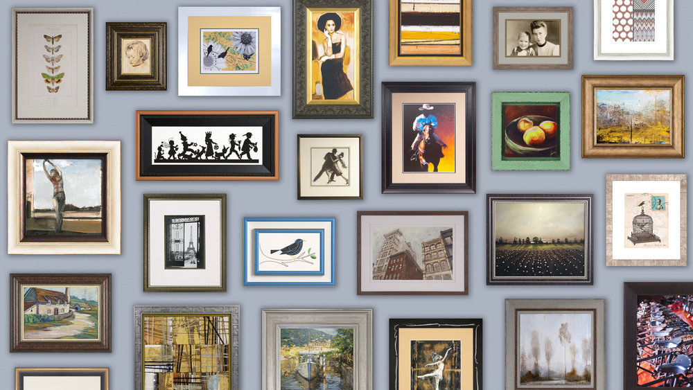 Picture Framing @ Fastframe of Santa Monica