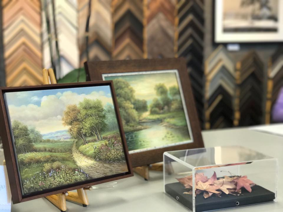 Canvas framing — Picture Framing @ Fastframe of Santa Monica
