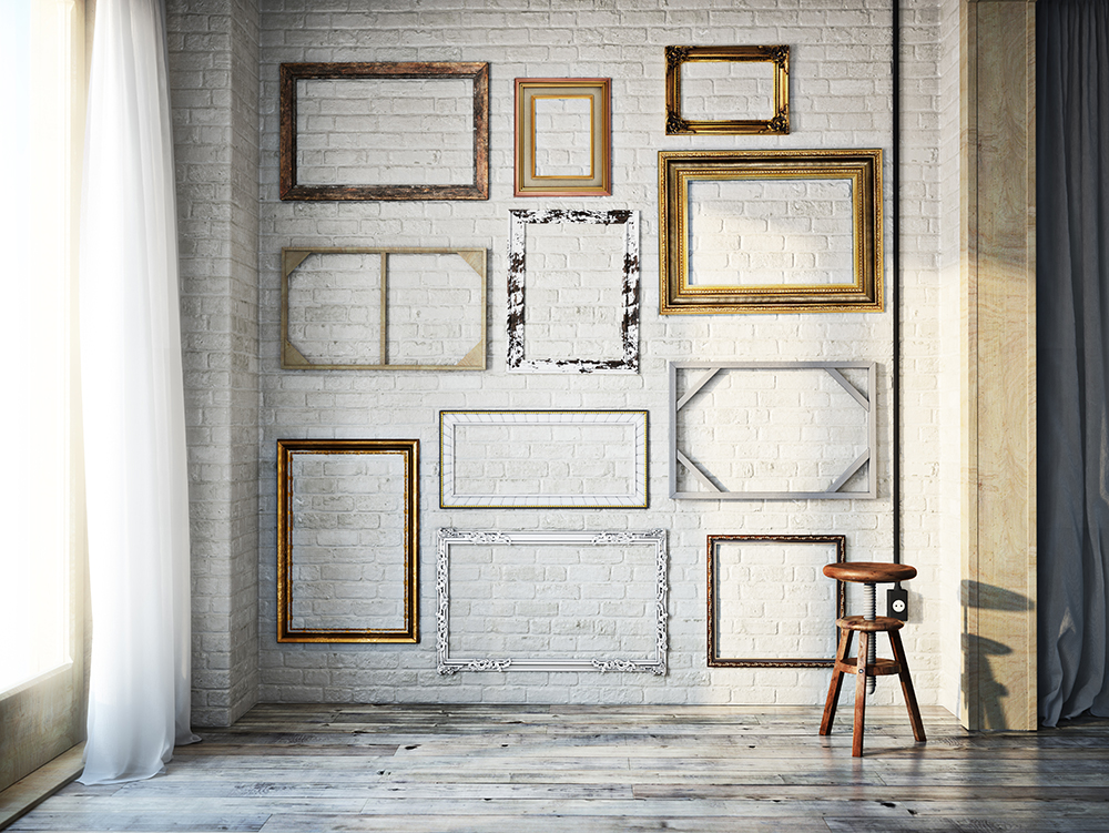 5 Tips to Get Your Gallery Wall Started (2 of 5) — Picture Framing ...