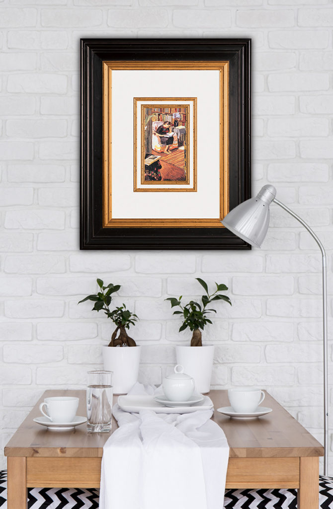Adding Value Through Custom Framing (2 of 3) — Picture Framing ...