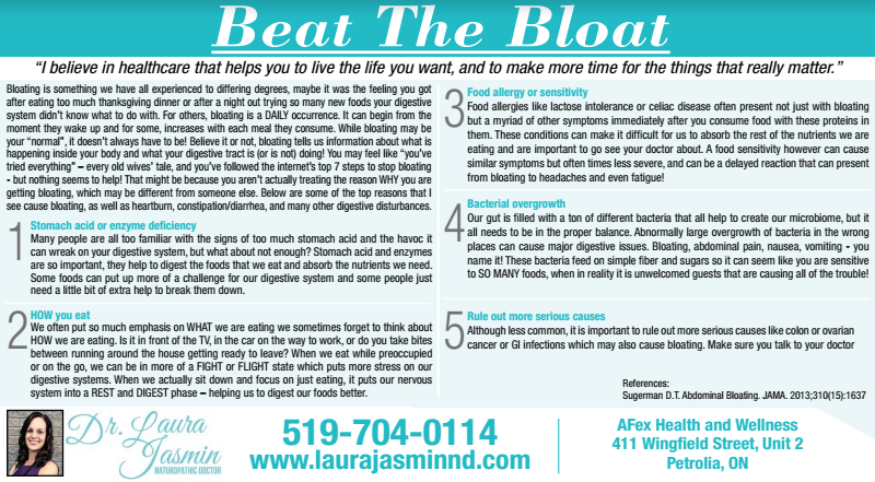 Beat the Bloat Sarnia This Week Article.PNG