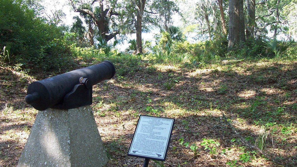 South cannon, Fort Mitchel