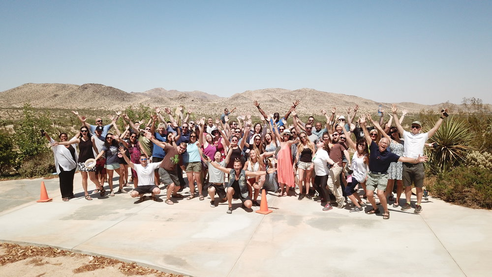 CampFI Southwest 2018 in Joshua Tree, CA