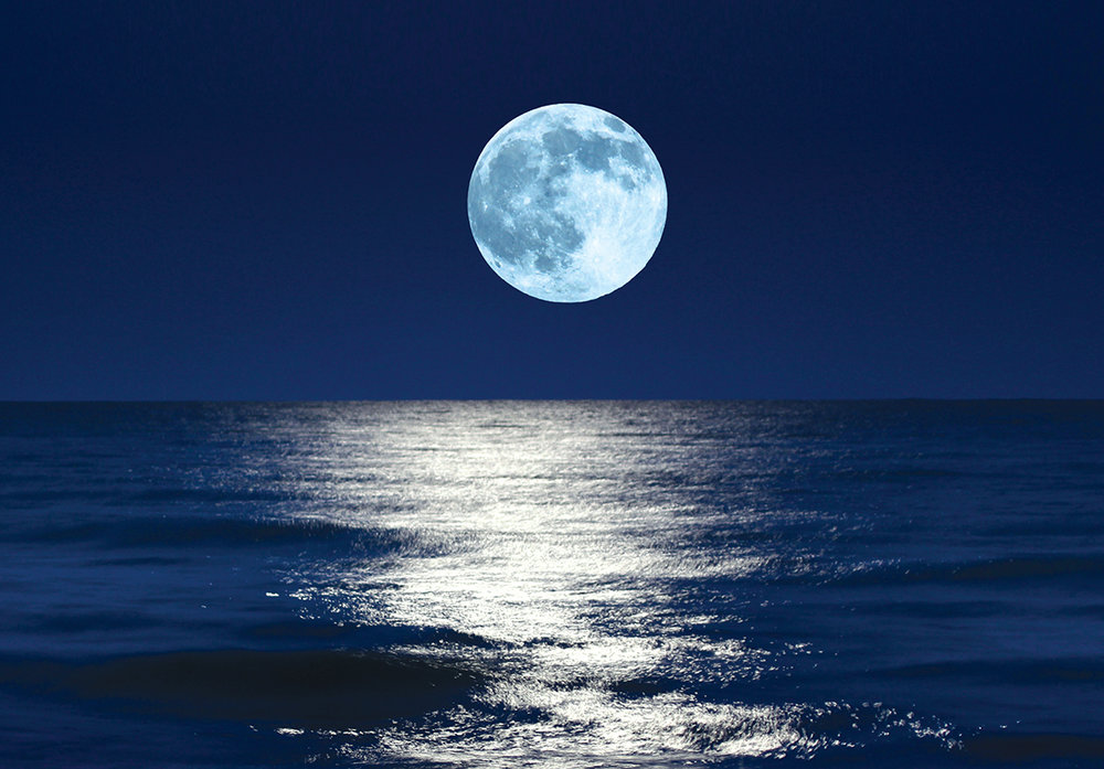 The moon covers emotions