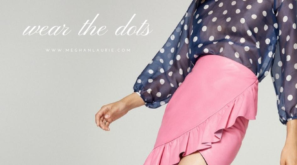 polka dot outfits 1