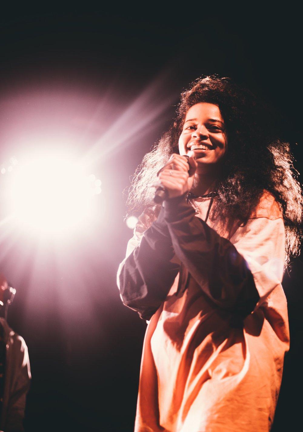 Ella Mai performing at The Royale (Boston, MA)