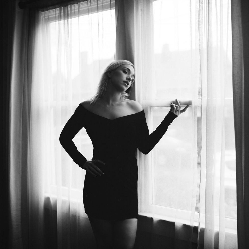 Portrait of Tori, a Portland-based model