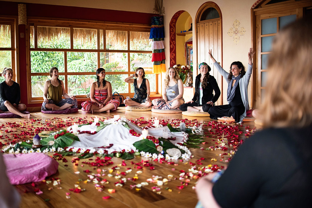 Cacao Ceremony at Villa Sumaya