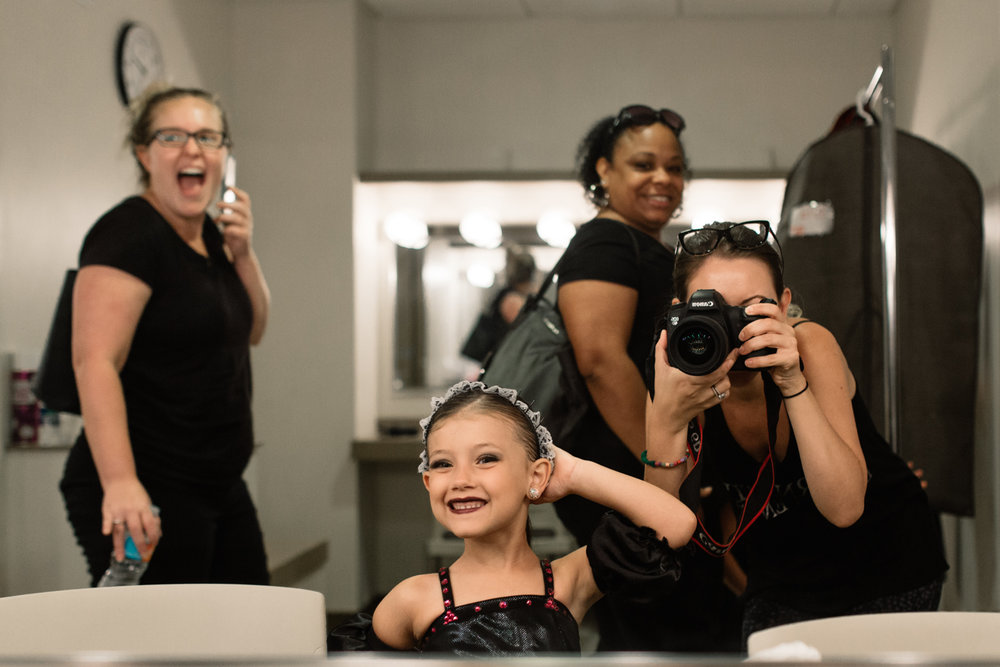 Girl in Mirror at Dance Competition.jpg
