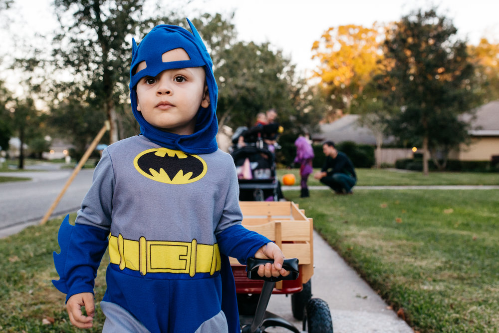 Boy in Batman Costume Orlando Lifestyle Photographer.jpg