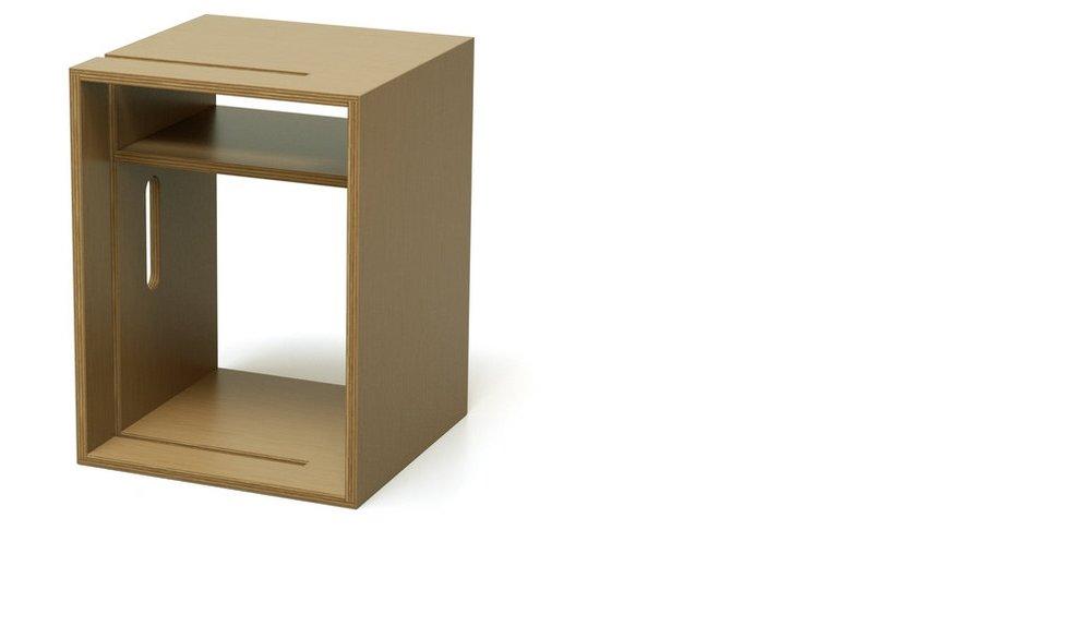 Design Award prämierte Whiteboard Ständer aus Holz