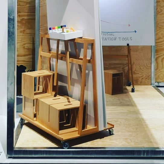 We feel very lucky to be part of Vitra's  WORK concept world at Orgatec. Visit us in Hall 5.2 . . . . . . . . #designthinking #furnituredesign #officefurniture #whiteboard #workspace #design #idea #ideation #innovation #creative #woodworking #woodwork #3d #cad #animation # #aftereffects #c4d #octane #studiotools #lean #agile #ifdesignaward #photoshoot #photography #germandesignaward #maker #makersmovement #prototype #vitra