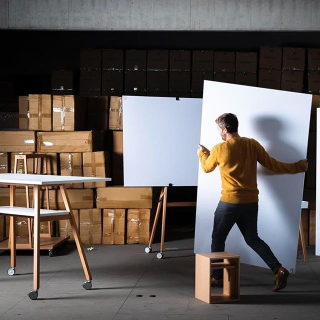 Setup of the photoshoot. Danke @michael_h_photography. . . . . . . . . . . . #designthinking #furnituredesign #officefurniture #whiteboard #workspace #design #idea #ideation #innovation #creative #woodworking #woodwork #3d #cad #animation # #aftereffects #c4d #octane #studiotools #lean #agile #ifdesignaward #photoshoot #photography #germandesignaward #maker #makersmovement #prototype