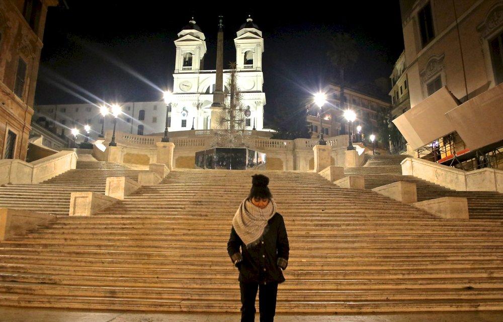 Scalinata di Trinità dei Monti (Spanish Steps), Rome, Italy