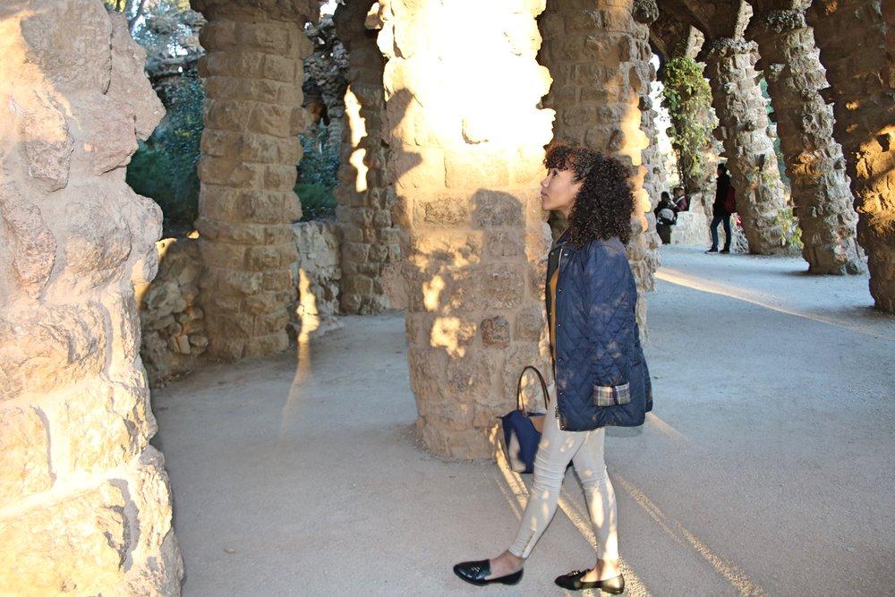 Park de Guell, Barcelona, Spain