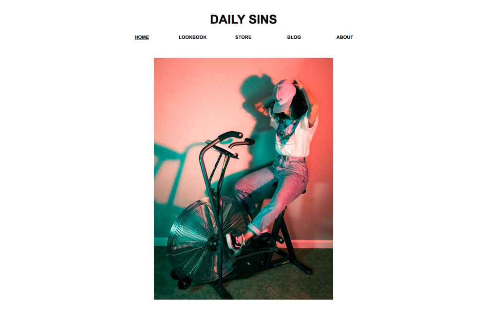 Daily Sins  is a streetwear and lifestyle brand based out of Colorado Springs, CO. The work I've been doing with them has been comprehensive and includes photography, styling, responsive web design, Search engine optimization, product photography and photo editing as well as print design for some of the product.