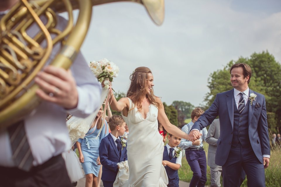 Brass Junkies Huntsham Ct Wedding