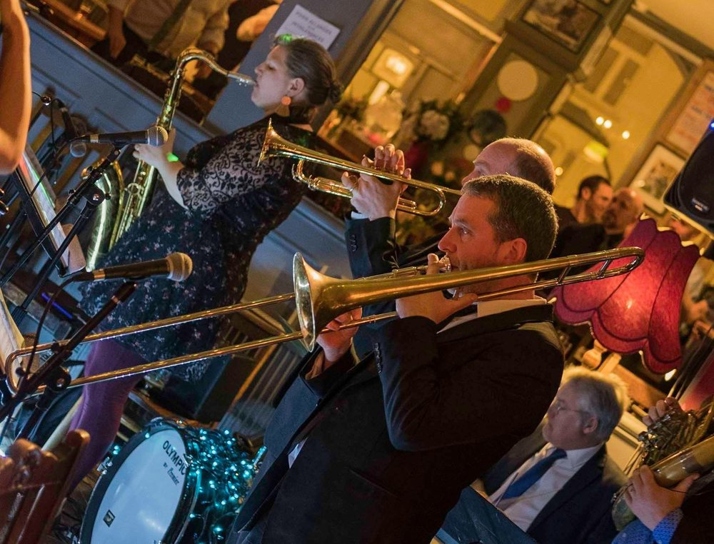 Brass Junkies Playing Live Londesborough Pub at a Wedding