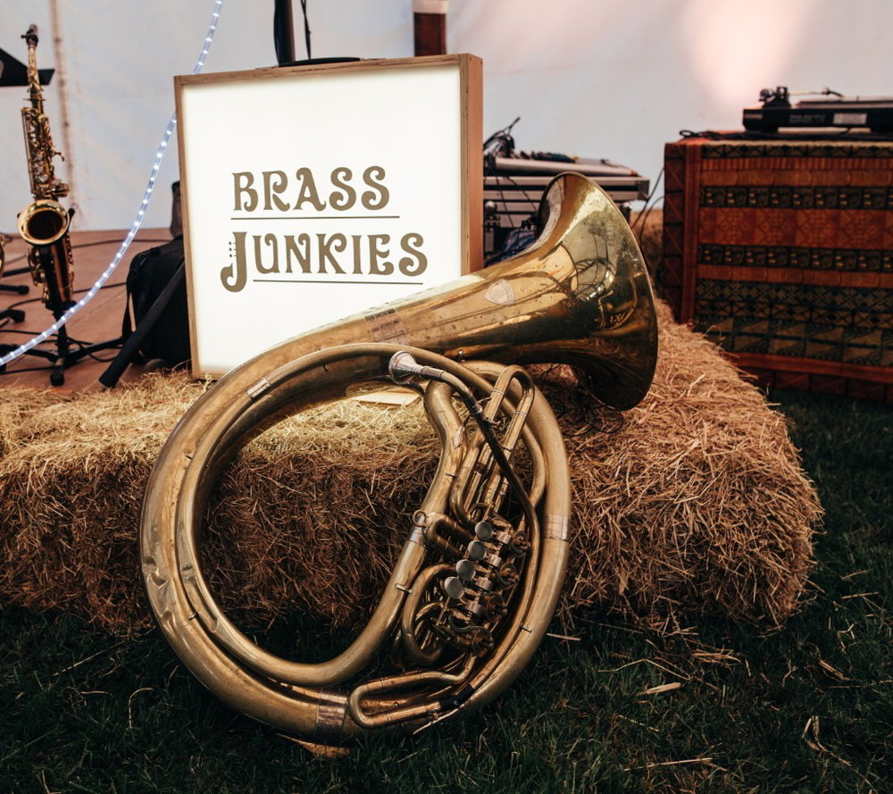 Brass Junkies Hay and Tuba/Lightbox