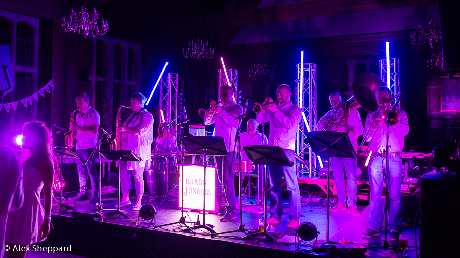 Brass Junkies 8 White Party