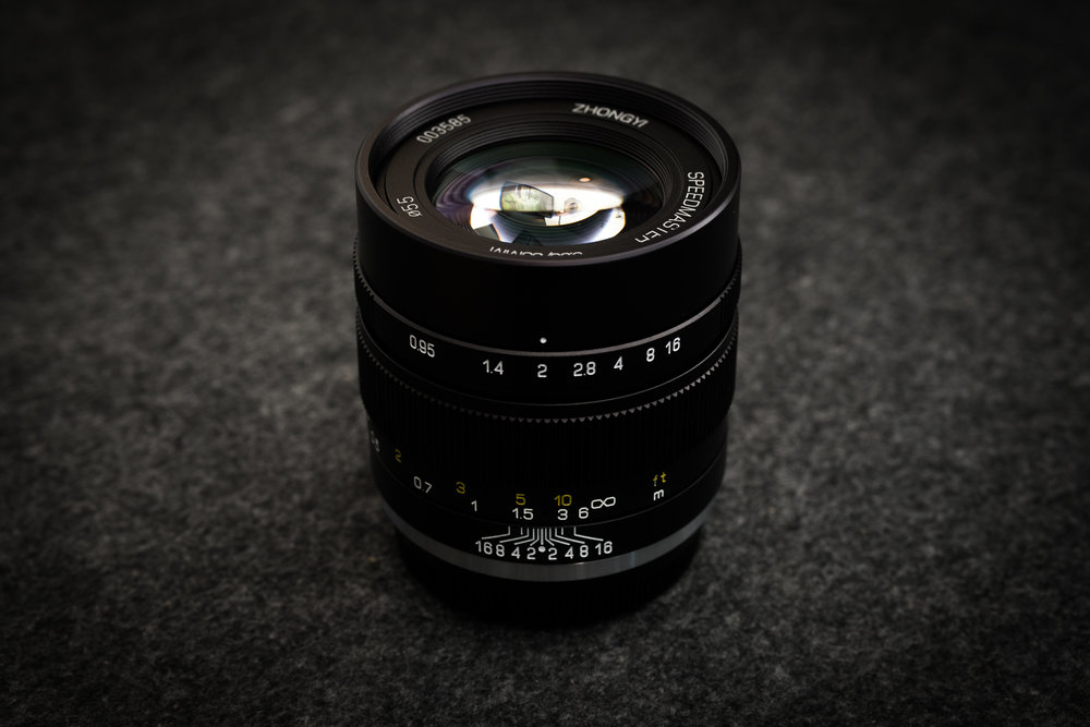 Mitakon 35mm f/0.95 für die Fuji-X Serie (XF-Mount)