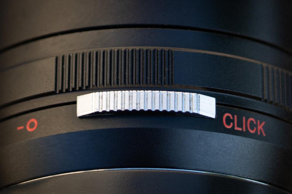 ´Der Blendenschalter am Laowa 15mm
