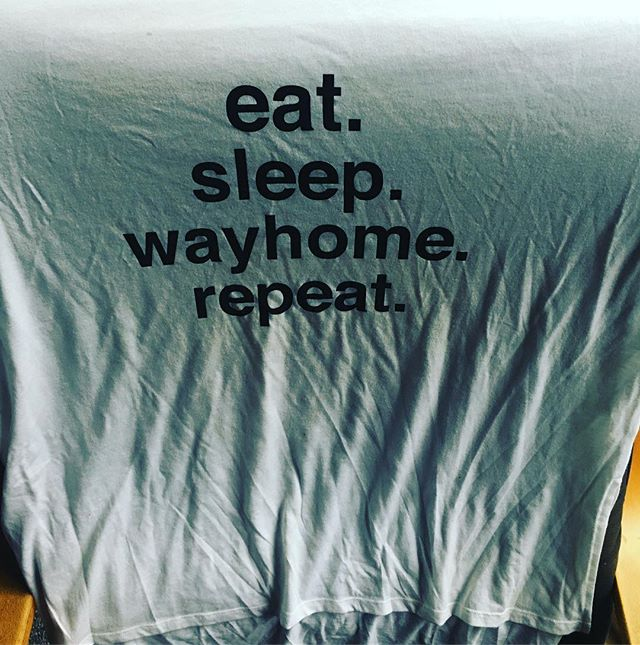 Wayhome 2017 is nothing but memories now and swag like my shirt which actually made it home.  See you all in 2018 WAYHOMIES! #music #livemusic #wayhome #wayhome2017 #camping #camping⛺️ #sun #music #festival #musicfestival #ontario #swag #shirt #wayhomies