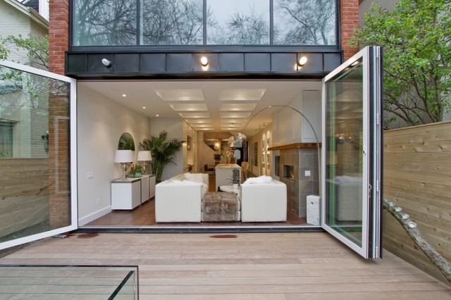 Panoramic Doors are less than 1/2 the cost of Nana Wall & Glass Wall Doors \u2014 The Sea Ranch House