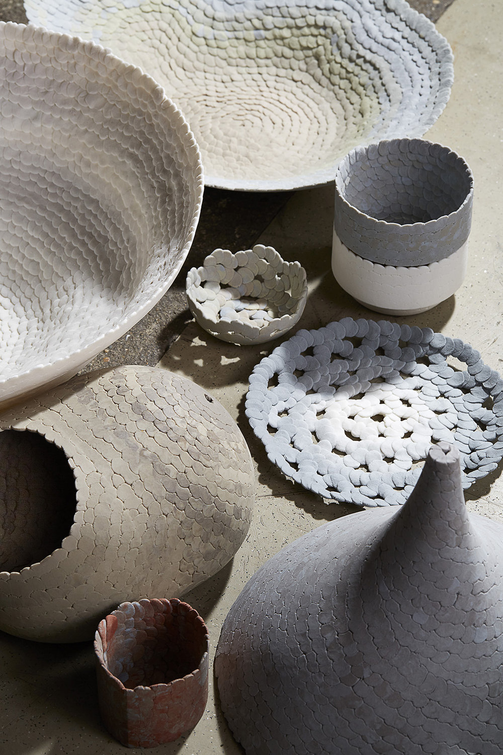 lumps of clay, Thomas Nathan© Design Academy Eindhoven