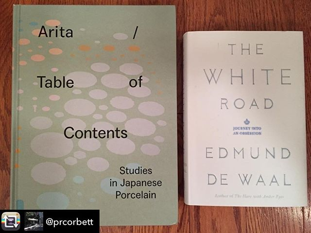 For the ceramics lovers -Repost from @prcorbett using @RepostRegramApp - Two excellent books