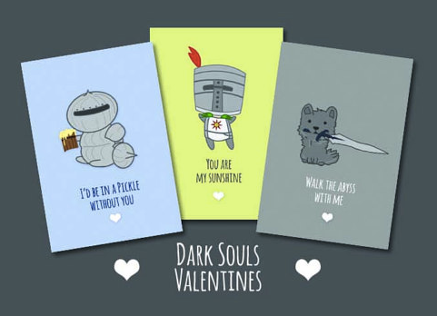 Dark Souls Valentines Day Cards £3.61
