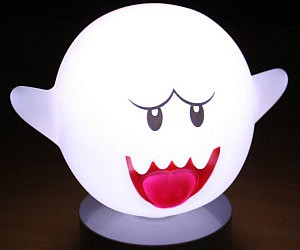 Super Mario Motion Sensor Boo Lamp £47.97