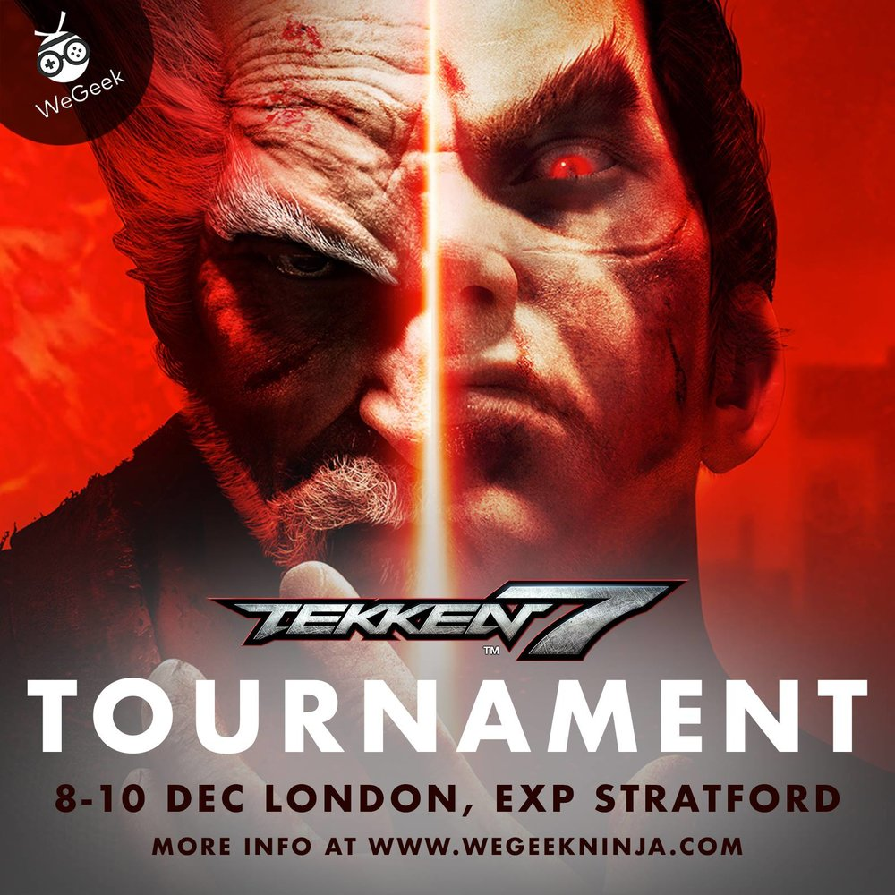 Heads up Tekken fans! Challenge your opponents to an iron fist fight at our Tekken 7 Tournament or simply have fun with some local players at WeGeek's Gaming Utopia.